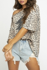 Blue Buttercup Leopard Lightning Bolt - Back cropped