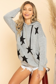 Blue Buttercup Stars Sweaters - Front full body