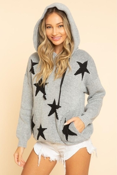 Blue Buttercup Stars Sweaters - Product List Image