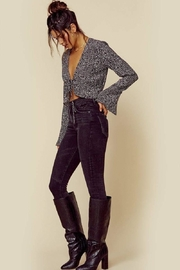 Blue Life Trixie Top - Midnight - Side cropped