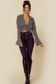 Blue Life Trixie Top - Midnight - Front full body
