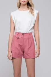 Blue Pepper 90's-Inspired Trouser Shorts - Product Mini Image