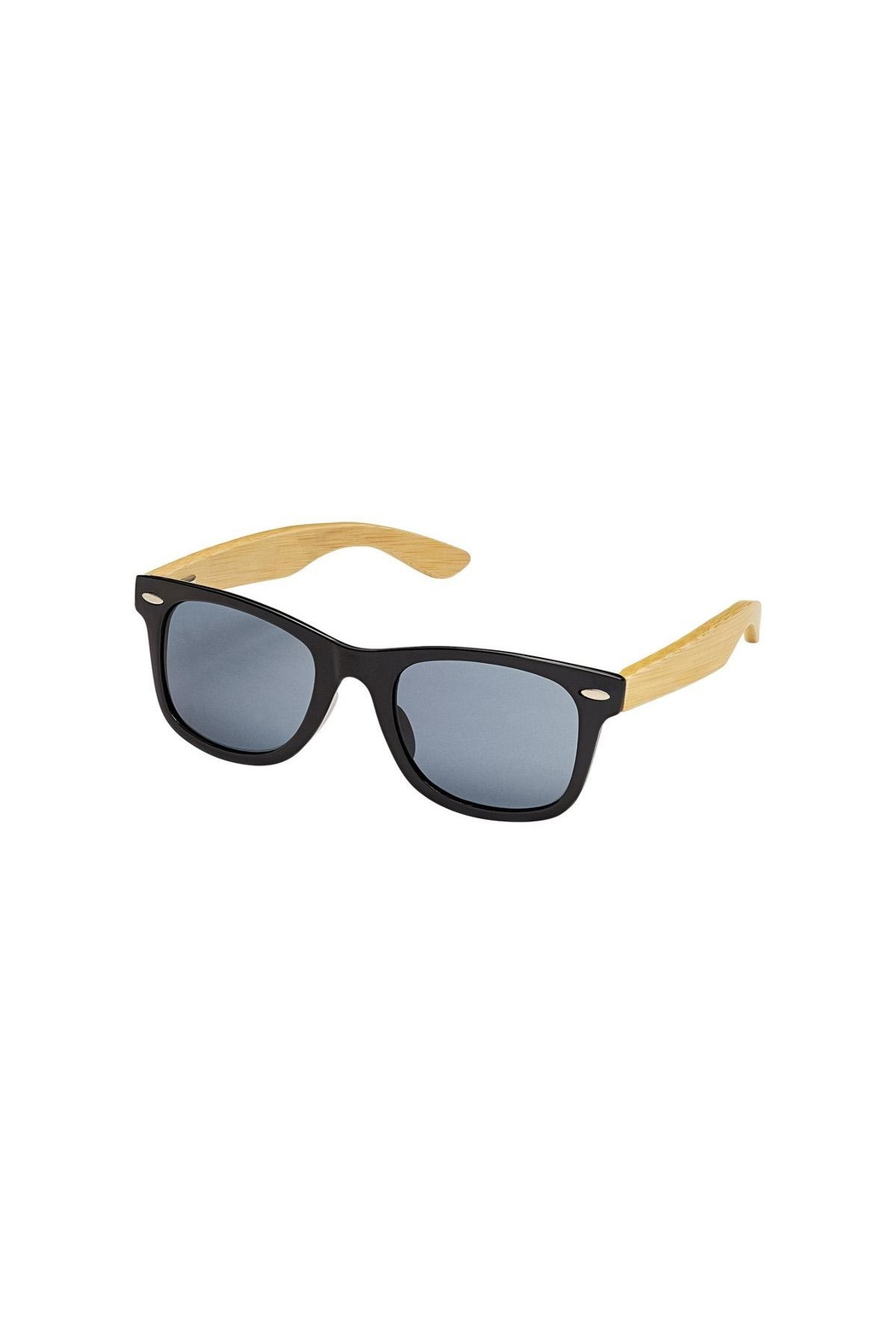 Blue Planet Eyewear Classic Black Sunglasses - Front Cropped Image