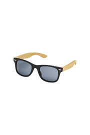 Blue Planet Eyewear Classic Black Sunglasses - Front cropped