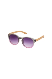 Blue Planet Eyewear Elysse Pink Sunglasses - Front cropped