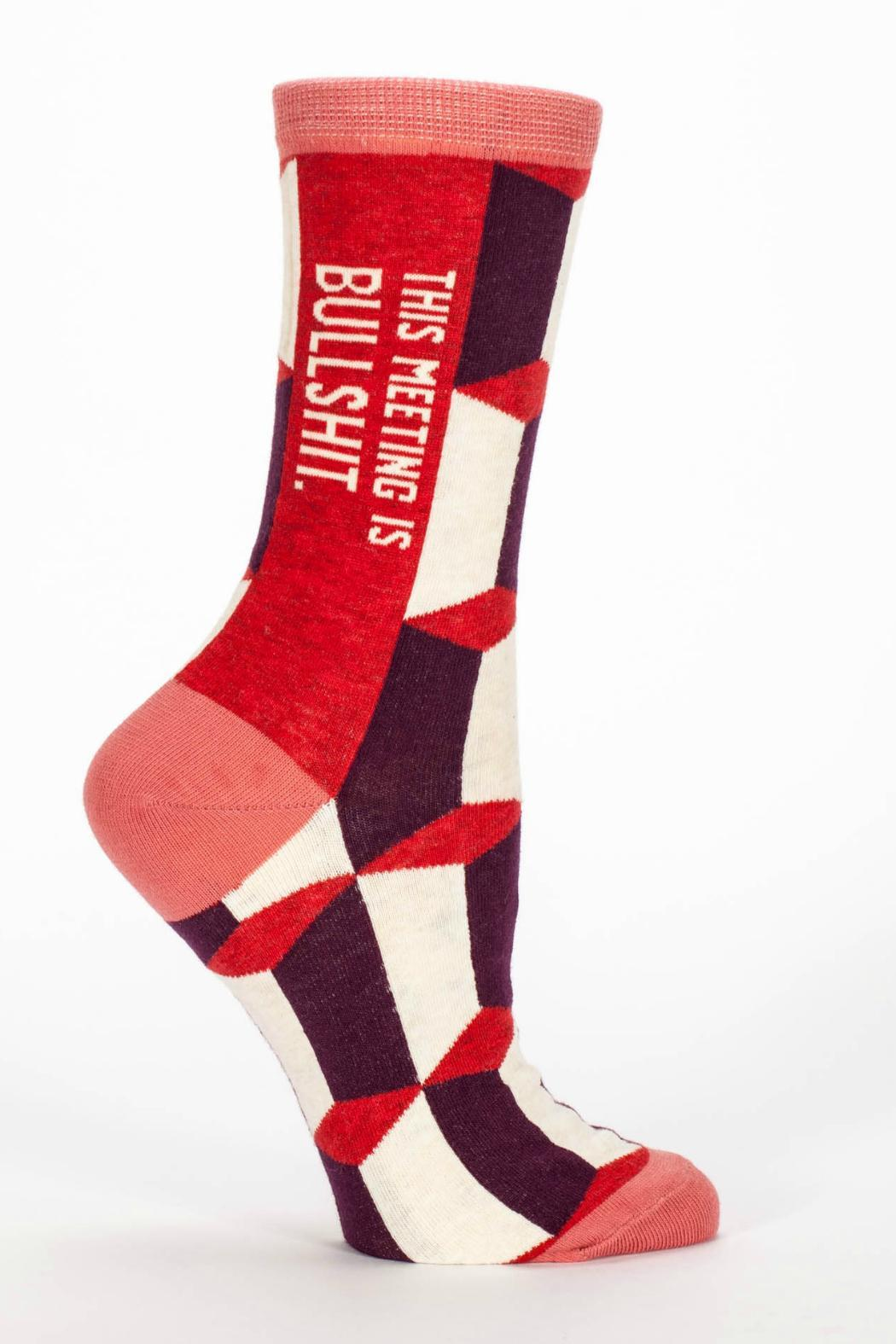 Blue Q BS Meeting Socks - Main Image