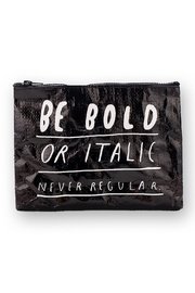 Blue Q Be Bold Zip Pouch - Front cropped