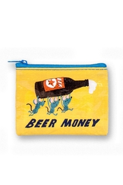 Blue Q Beer Money Coin Purse - Front cropped
