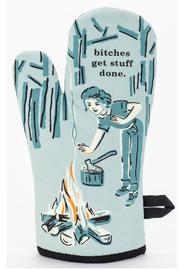Blue Q Bitch Oven Mitt - Product Mini Image