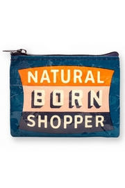 Blue Q Born Shopper Coin Purse - Product Mini Image
