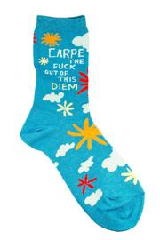 Blue Q Carpe Socks - Product Mini Image