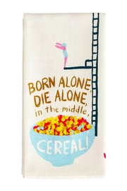 Blue Q Cereal Dish Towel - Product Mini Image