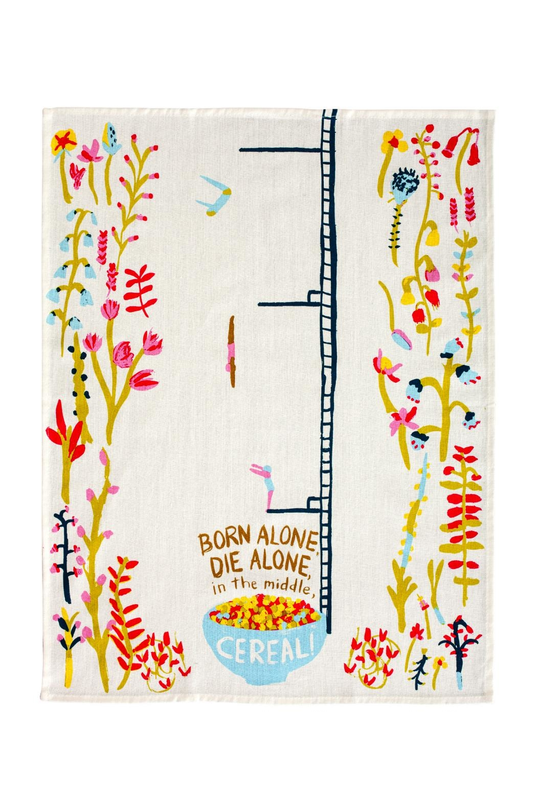Blue Q Cereal Dish Towel - Front Full Image