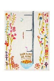 Blue Q Cereal Dish Towel - Front full body