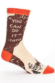 Blue Q Coffee Mens Socks - Product Mini Image