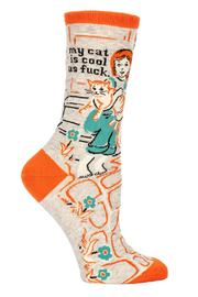Blue Q Cool Cat Socks - Product Mini Image