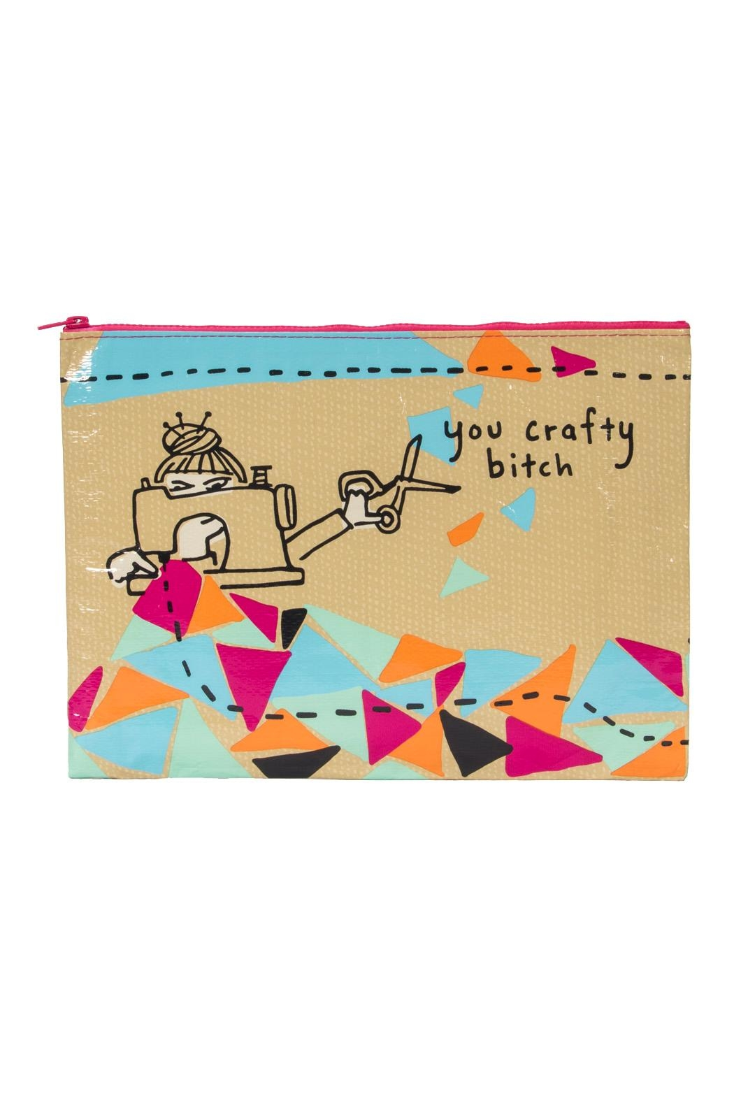 Blue Q Crafty Jumbo Pouch - Main Image