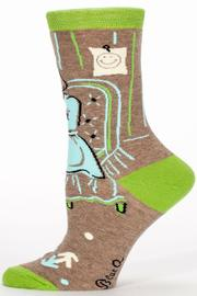 Blue Q Dark Side Socks - Front full body