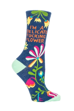 Shoptiques Product: Delicate Flower Socks