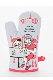Blue Q Delicious Oven Mitt - Front cropped