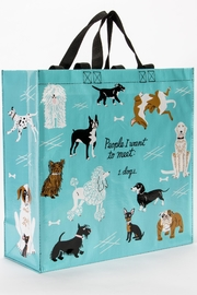 Blue Q Dog Reusable Bag - Product Mini Image