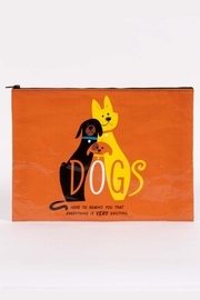 Blue Q Dogs Jumbo Pouch - Product Mini Image