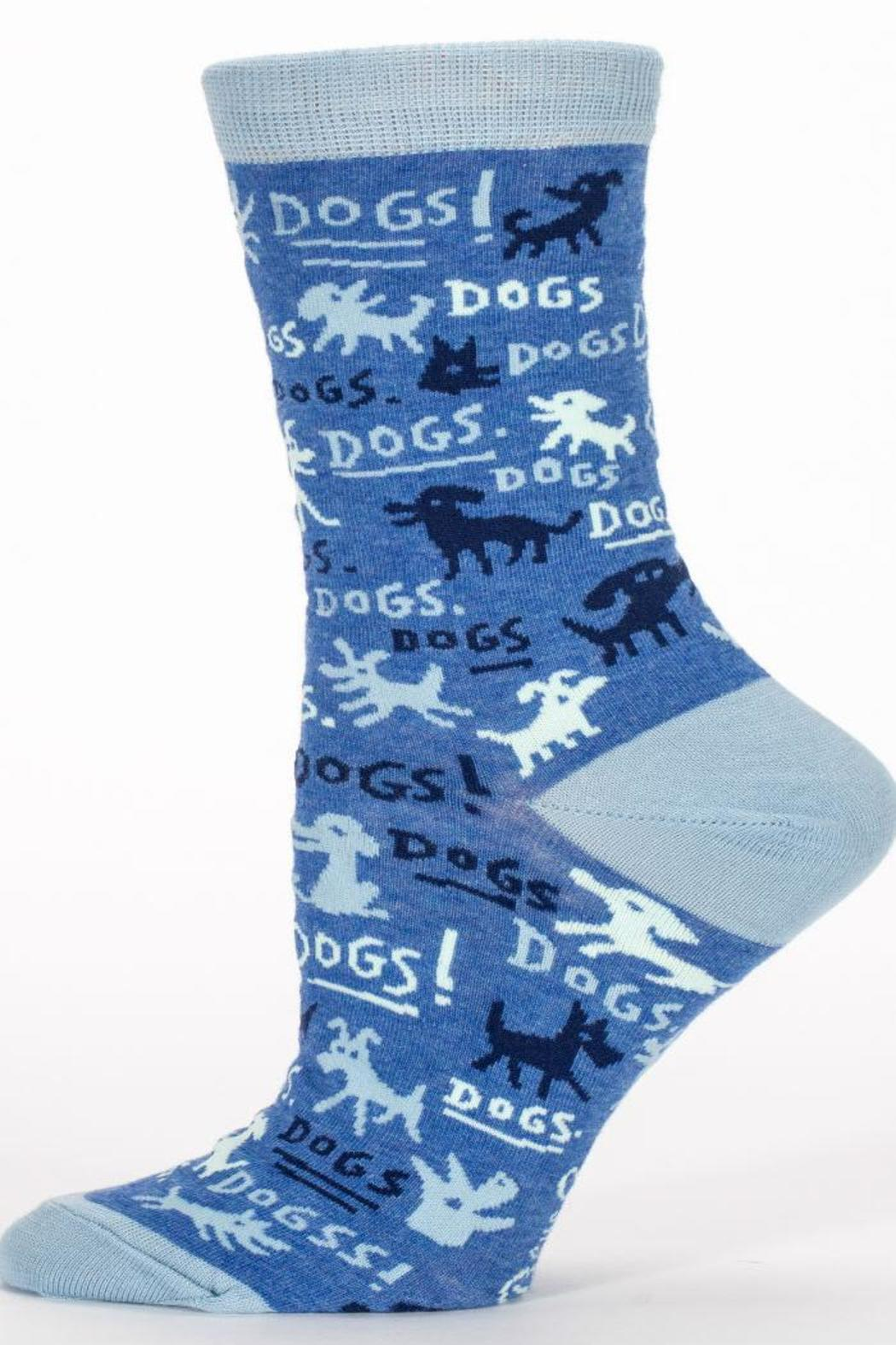 Blue Q Dogs Sock - Front Full Image
