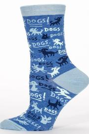 Blue Q Dogs Sock - Front full body