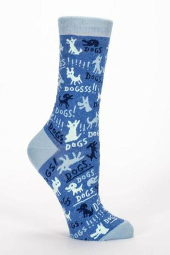 Blue Q Dogs Sock - Main Image