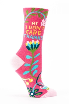 Shoptiques Product: Don't Care Thanks Socks