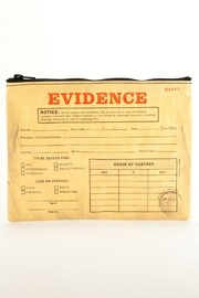 Blue Q Evidence Zipper Pouch - Product Mini Image