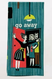 Blue Q Go Away Dishtowel - Product Mini Image