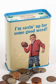 Blue Q Good Weed Bank - Front full body