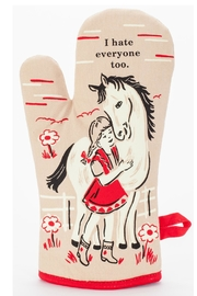 Blue Q Hate Everyone Mitt - Product Mini Image