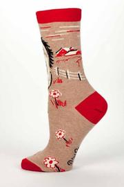 Shoptiques Product: Hate Everyone Socks - Side cropped