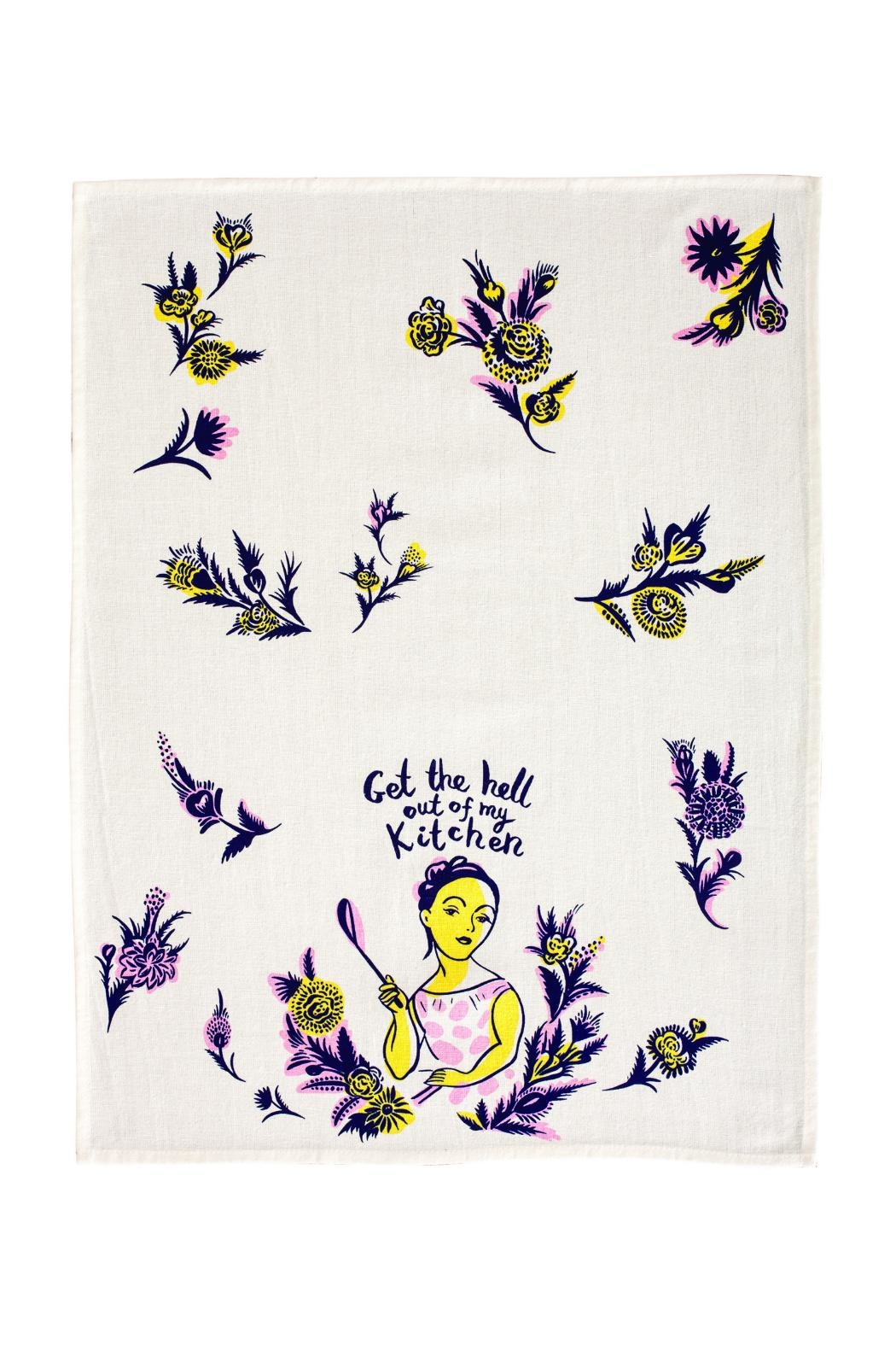 Blue Q Hell Dish Towel - Front Full Image