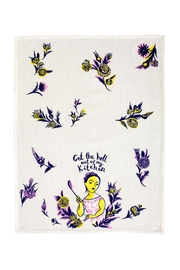 Blue Q Hell Dish Towel - Front full body