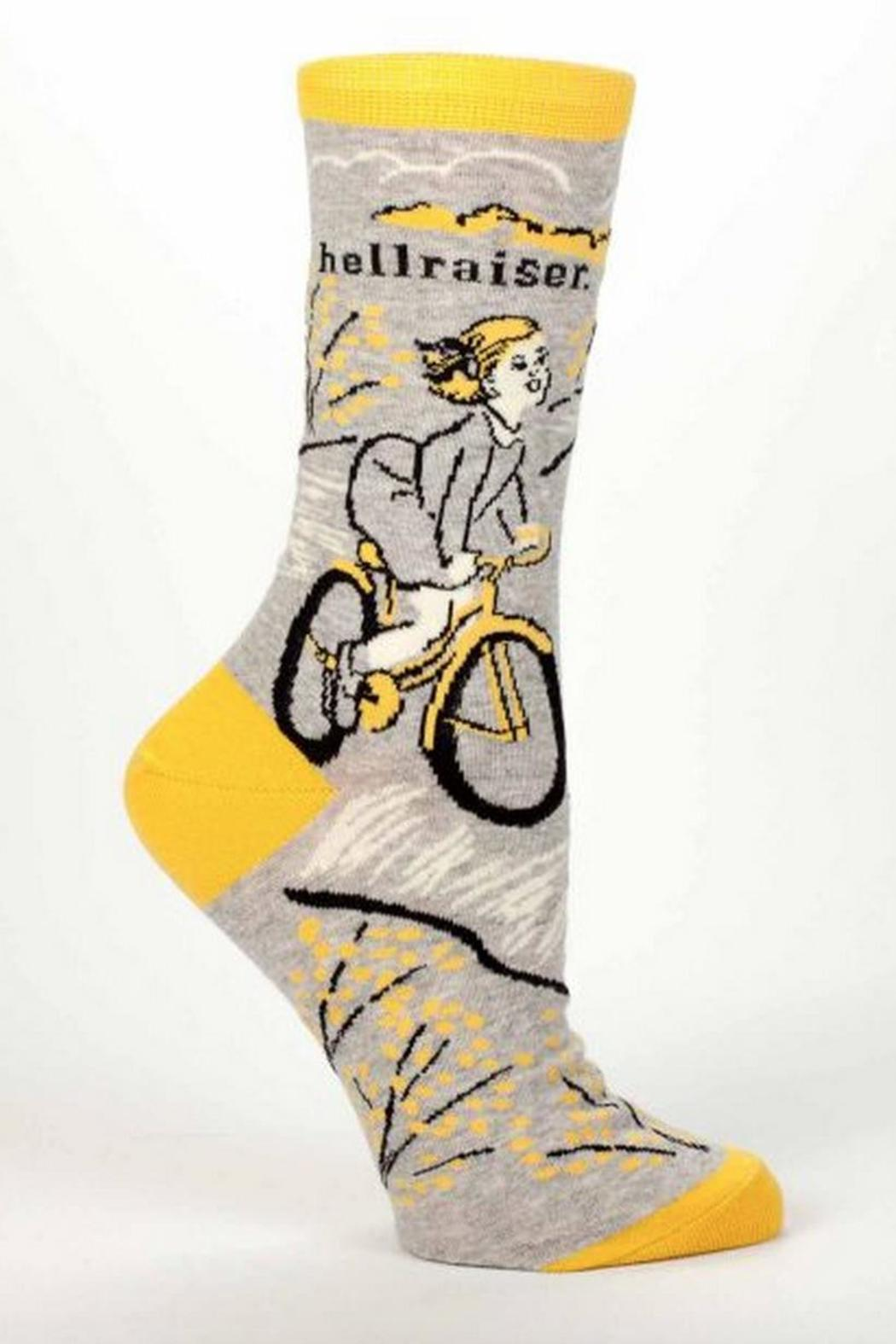 Blue Q Hellraiser Socks - Front Cropped Image