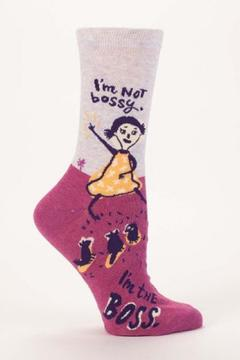 Shoptiques Product: I'm Not Bossy Socks