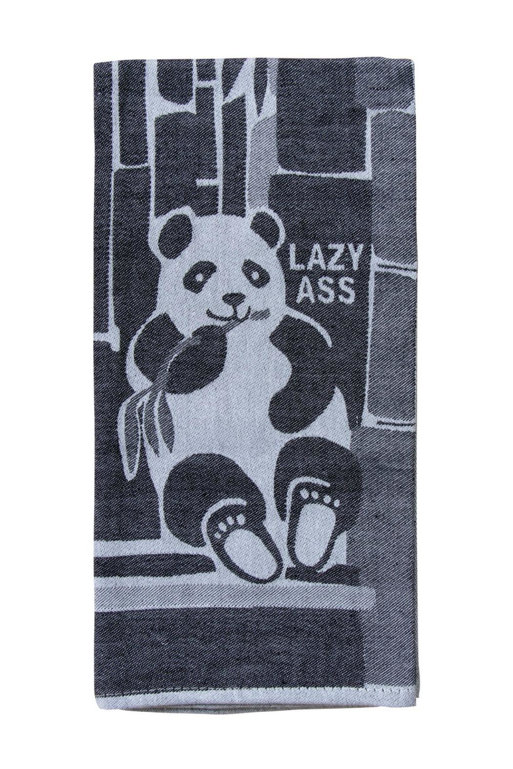 Blue Q Lazy Ass Dishtowel - Main Image