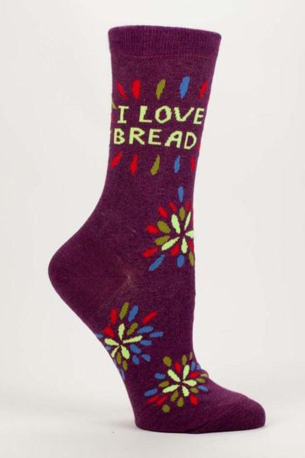Blue Q Love Bread Socks - Front Cropped Image