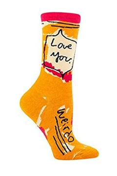Shoptiques Product: Love Weirdo Socks