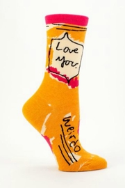 Blue Q Love You Socks - Product Mini Image