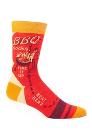 Blue Q Men's Bbq Socks - Product Mini Image