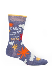 Blue Q Men's Carpe-Diem Socks - Product Mini Image