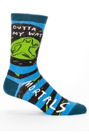 Blue Q Men's Mortals Socks - Product Mini Image