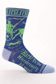 Blue Q Microbrewery Mens Socks - Front cropped