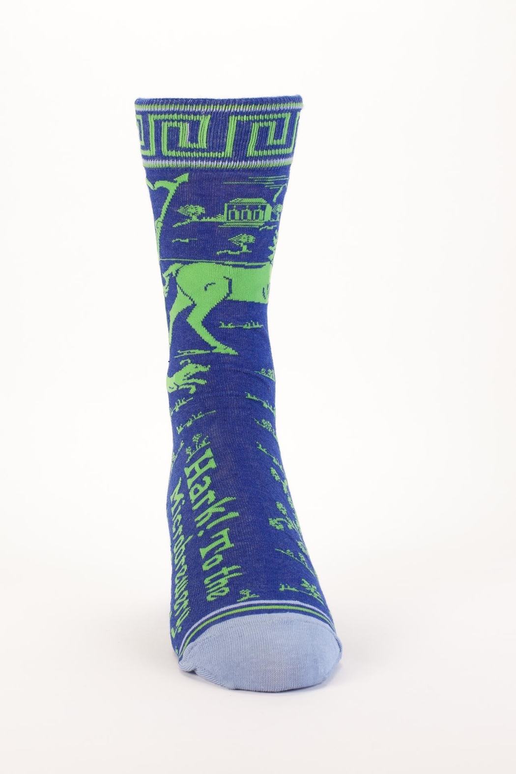 Blue Q Microbrewery Mens Socks - Front Full Image