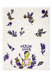 Blue Q Out Kitchen Towel - Front cropped