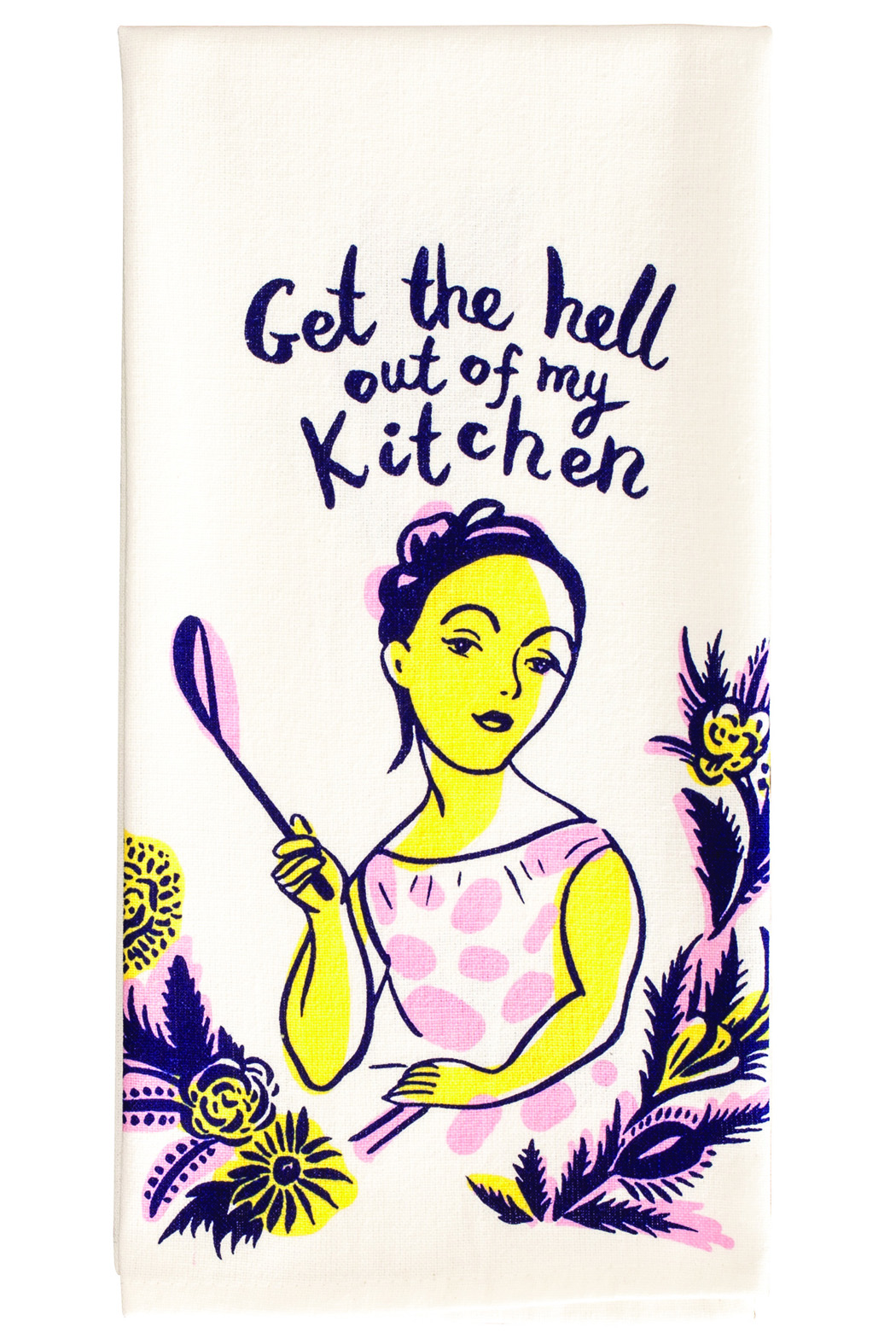 Blue Q Out Kitchen Towel - Front Full Image